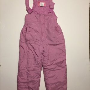 Climate Control Girls Bib Style Overalls